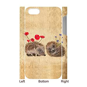 SHJFDIYCase Design DIY Hedgehog Best 3D Phone Case for Iphone 4,4S, DIY Phone Case SHJF-518083