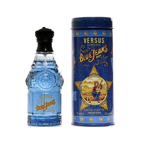 Versus Blue Jeans By Gianni Versace For Men, Eau De Toilette Spray 2.5 Ounces