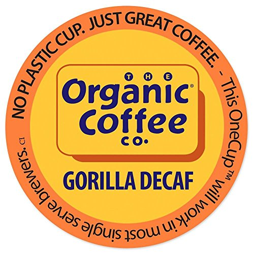 Organic Coffee Co. Organic Gorilla Decaf 12Ct Sliver Packs 2.0 compatible