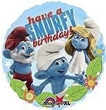 Single Source Party Supplies - 18'' Smurfs Birthday Mylar Foil Balloon