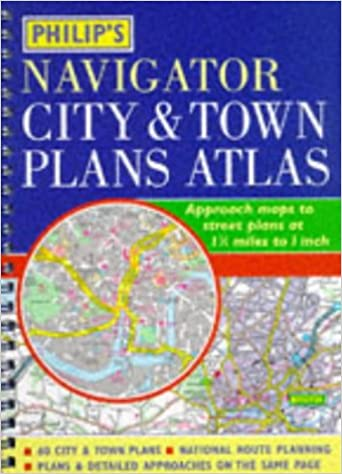 Navigator City and Town Plans Atlas