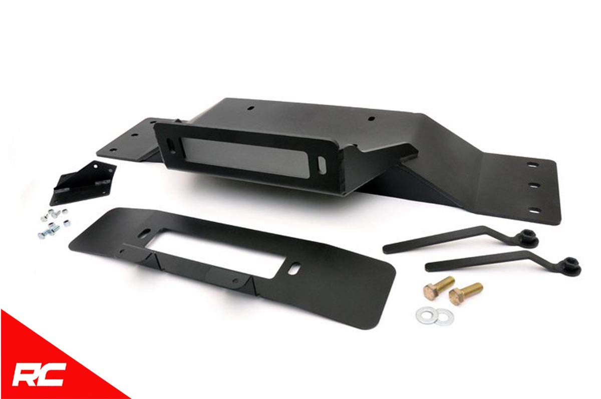 Rough Country Hidden Bumper Winch Mounting Kit (fits) 2009-2014 F150 (F-150) 1010