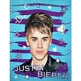 Justin Bieber Hearts and Stars Super Soft Fleece Throw Blanket 50x60