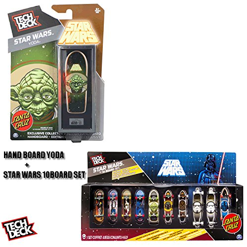 人気提案 テックデッキ コレクターズエディション ハンドボード ヨーダ& STAR WARS 10 WARS STAR BOARD SET テックデッキ B00XJDY1QE, カミスマチ:7ca3a002 --- a0267596.xsph.ru