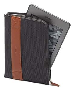 Funda con cremallera Amazon para Kindle, color carbón (sirve para Kindle Paperwhite, Kindle y Kindle Touch)