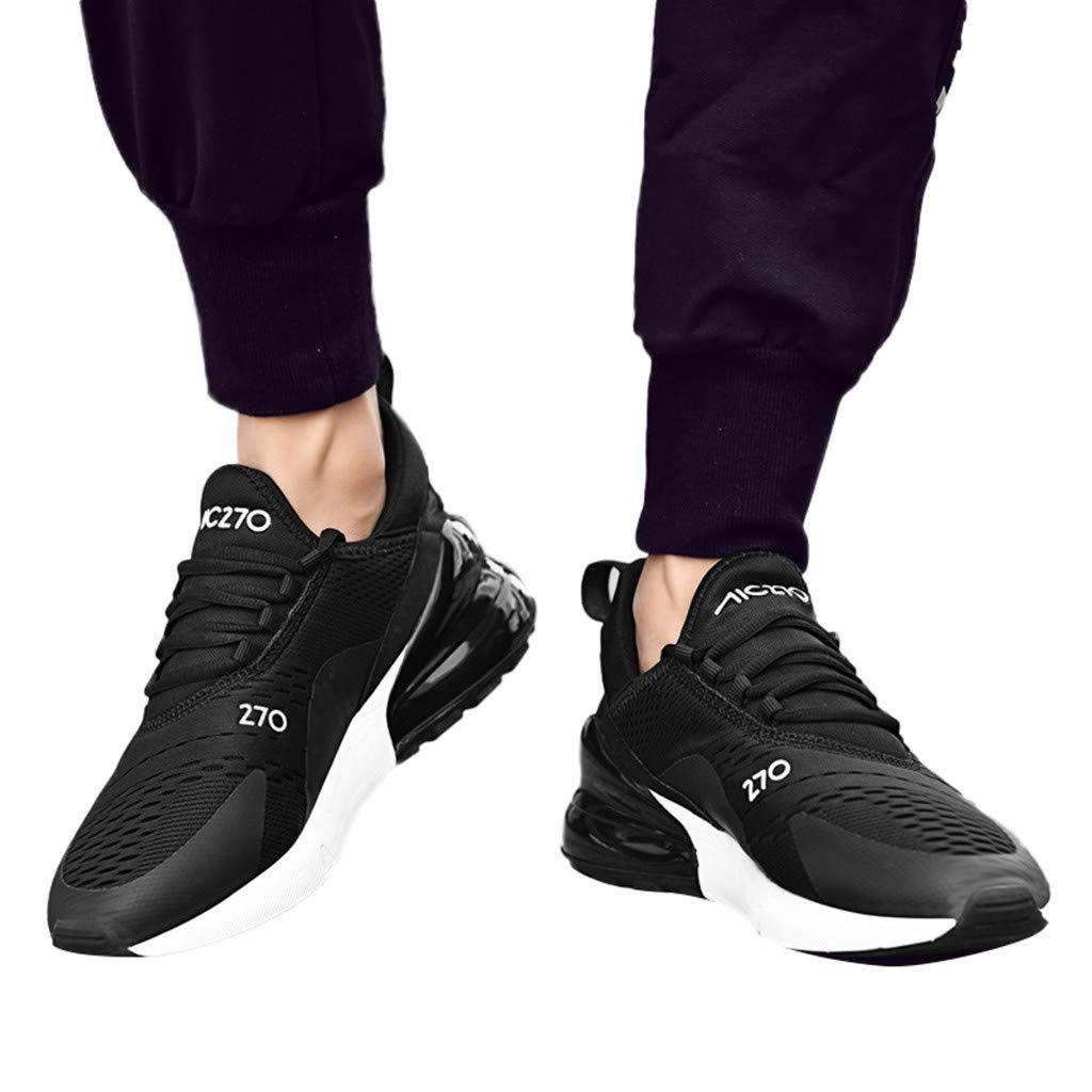 JiaMeng Scarpe Scarpe Sportive Uomo Corsa Atletiche Piatte da Corsa per Uomo da Ginnastica Leggera Antiscivolo Scarpe da Corsa Sportive da Uomo alla Moda Casual Scarpe da Corsa da Uomo