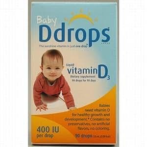 Baby Ddrops 400 IU, 180 Drops