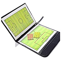 A-NAM Football Soccer Coach's Foldable Magnetic Tactics Strategy Board with an Erasable Write-Wipe 2 in 1 Pen