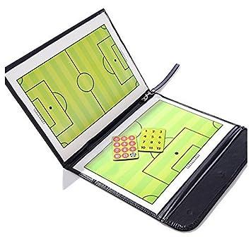 ANAM a-NAM Plegable magnético de Entrenador de fútbol de fútbol tácticas Estrategia Junta con un Write-Wipe borrable bolígrafo 2 en 1