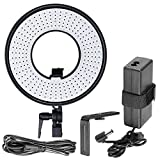 Bestlight DVR-300DVC 300 Pieces LED 19W 3000-7000K Dimmable Macro Ring Light for Video Photography Continuous Output Light for Video, Portrait and Photography Lighting or Supplement