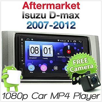 Tunez - Reproductor de Coche para Android Isuzu D-MAX 2007-2012 con Radio GPS estéreo y MP3: Amazon.es: Coche y moto