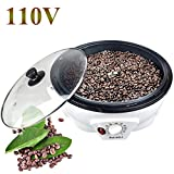 Electric Coffee Roaster Machine Coffee Bean Roasting for Cafe Shop Home Household Use 110V (Coffee Roaster)