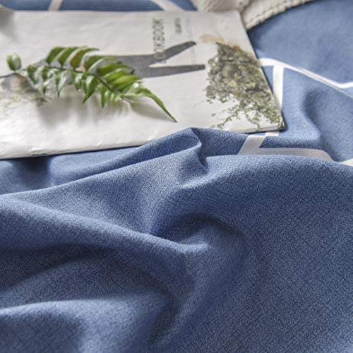 SlimpleStudio Le Nouveau Costume Quatre pièces en Cachemire végétal épais et Chaud est Confortable et Respirant Essentiel à la Maison-A6_Lit de 4 Pieds