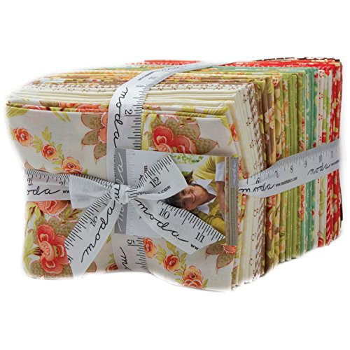 Hazel and Plum Fat Quarter Bundle by Fig Tree for Moda - 18''x21''/22'' 40 count by Moda Fabrics