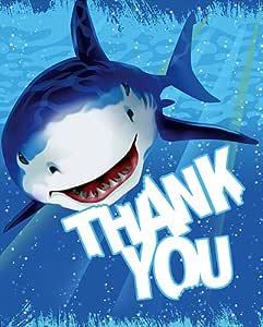 Creative La conversión de tiburón Splash 8 Conde Tarjetas
