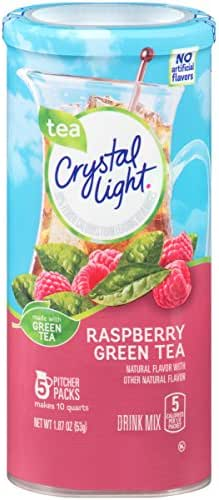 Water Flavoring: Crystal Light Pitcher
