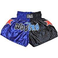 DUO GEAR Star Split Muay Thai Kickboxing-Pantalones Cortos