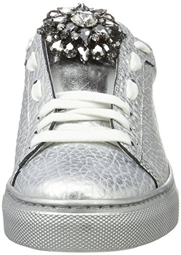 Argento Stokton Zapatillas Plateado Sneaker Mujer para 00p7ZqS