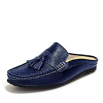 OME&QIUMEI De L'Été Cool Pantoufles Chaussures Casual Chaussures Nike Shox Chaussures Grotte Blue 41 eoarGRPp
