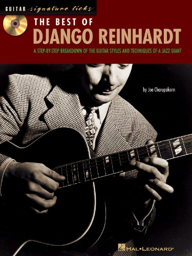 The Best of Django Reinhardt - Signature Licks- BK+CD
