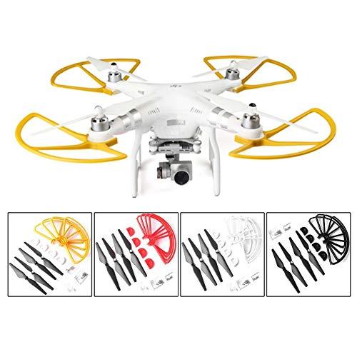 WUQIAN 4 Piezas De Protección De Hélice De Dron + Anillos De ...
