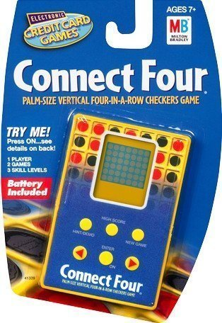 Electronic Connect Four Credit Card Game - Electronic Connect Four