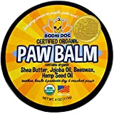 USDA Certified Organic Paw Balm for Dogs & Cats | 2/4/8oz | All Natural Soothing & Healing for Dry Cracking Rough Pet Skin |