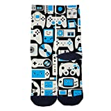 Video Game Machine Creative Socks Custom Elite Socks Casual Cartoon Socks Black