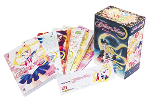 Sailor Moon - Volume de 1 à 6. Caixa