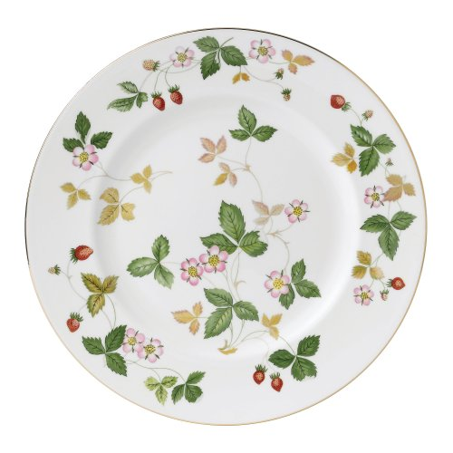 Wedgwood Wild Strawberry 10-3/4-Inch Dinner Plate (Wild Strawberry Bone)
