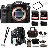Sony a99II 42.4MP Digital SLR Camera 3 LCD, Black (ILCA99M2) Bundle