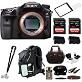 Sony a99II 42.4MP Digital SLR Camera 3″ LCD, Black (ILCA99M2) Bundle