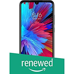 (Renewed) Mi Redmi -Note 7S (Onyx Black, 64GB, 4GB RAM)