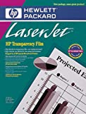 Hewlett Packard Transparency Film Letter A Size For HP Laser Printers 50-Pack