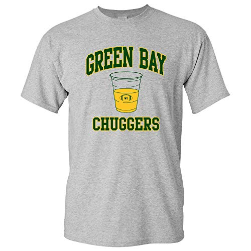 Green Bay Chuggers - Football Players Drinking Beer