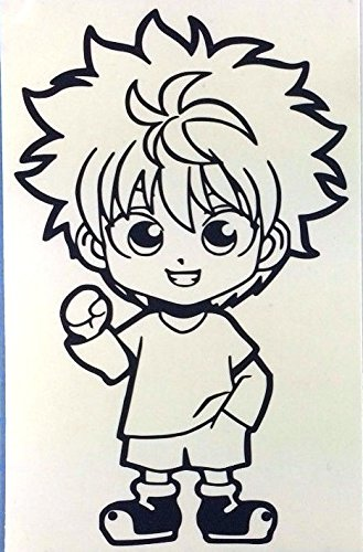 HUNTER X HUNTER ANIME KILLUA SD STICKERS SYMBOL 5.5