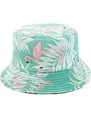 Mimfutu Reversible Womens Bucket Hat, Summer Fashion Fisherman Beach Sun Hats