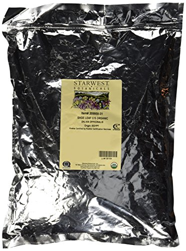 Starwest Botanicals Sage Leaf Cut/Sifted, 1-Pound For Sale