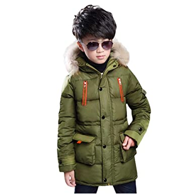 bec85e1b3e4e Children Coat Winter Vovotrade Kids Boys Girls Long Sleeved Hooded ...
