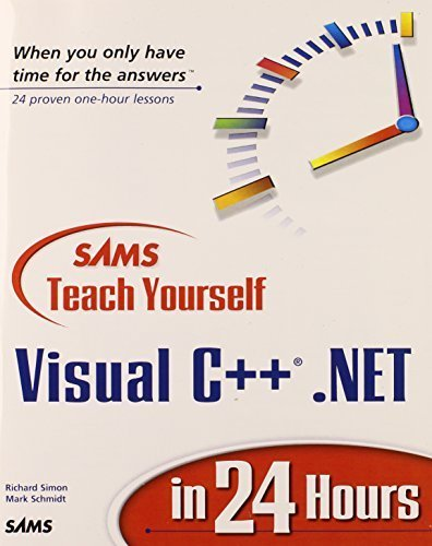 Sams Teach Yourself Visual C++.NET in 24 Hours by Richard J. Simon (2002-04-19)