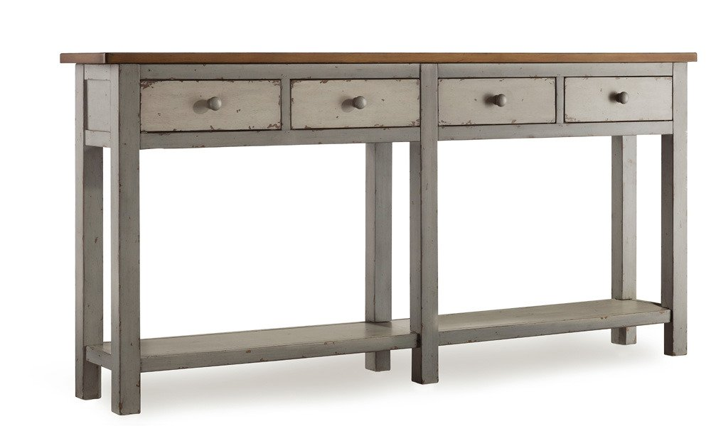 Amazon.com: Hooker Furniture Melange Ramsay Hall Console Table: Kitchen U0026  Dining