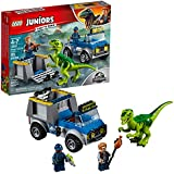 LEGO Juniors/4+ Jurassic World Raptor Rescue Truck 10757 Building Kit (85 Piece)