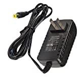 HQRP 9-Volt AC Adapter for X-Rocker 51476 51277 51231 51233 51274 51368 5109501 5171101 51275 51462 Gaming Chair Power Supply Cord [UL Listed] + Euro Plug Adapter
