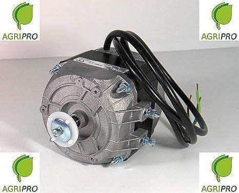 Motor con ventilador pentavalente W 16, compresor de nevera, electroventilador: Amazon.es: Hogar
