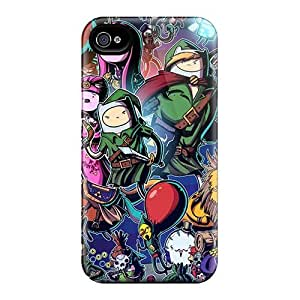 High Quality BCp8017hSfh Adventure Time Zelda Cases For Iphone 6plus