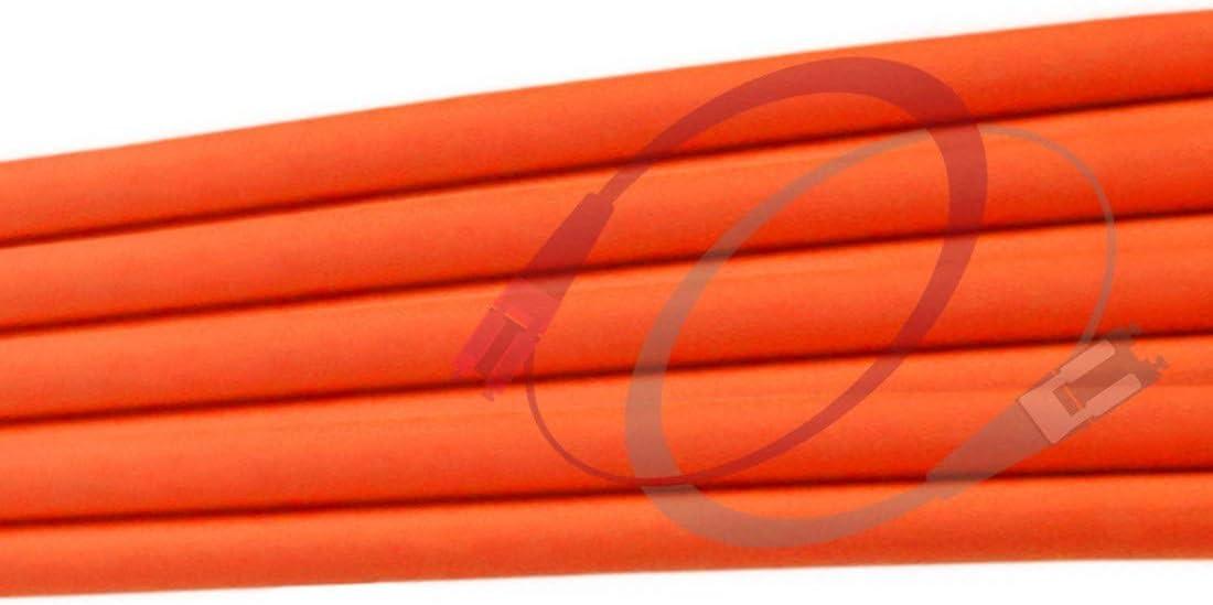 49.21ft FiberCablesDirect 1gb 10gb mmf stupc sfp 1gbase mm dx PVC ofnr st-st | Length Options: 0.5M-300M 1Gb Duplex 62.5//125 ST to ST Multimode Jumper 15 Meter 15M OM1 ST ST Fiber Patch Cable