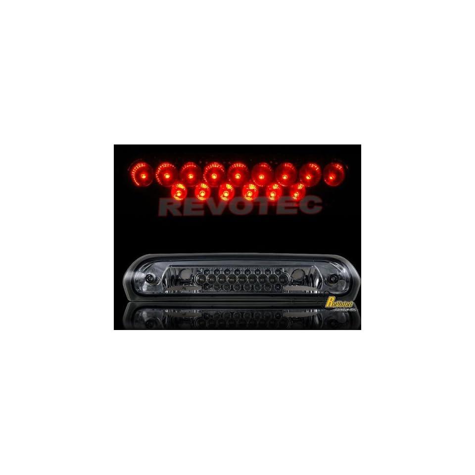 Dodge Ram Led Tail Lights Smoke LED Third Brake Light 2001 2002 2003 2004 2005 2006 01 02 03 04 05 06