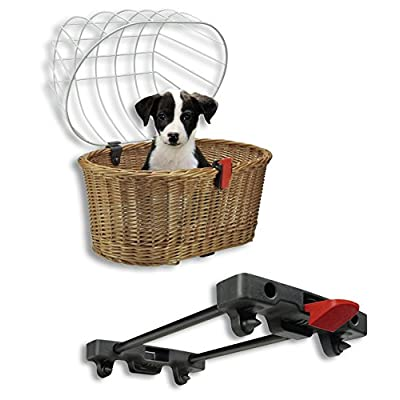 RIXEN   KAUL Klickfix Doggy Basket pour Racktime 2016 Panier pour  porte-bagages 63993d182662