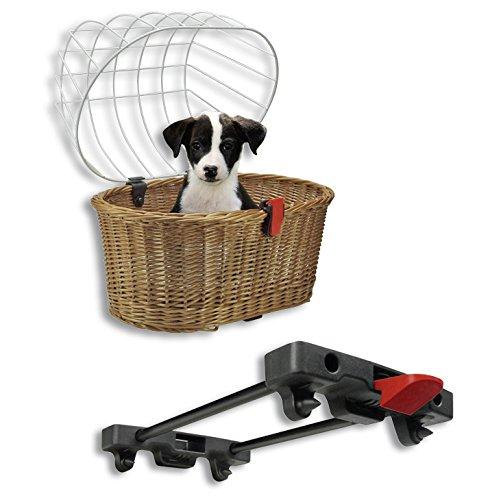 KlickFix rear basket Rixen & Kaul Doggy Basket for Racktime