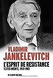 vignette de 'esprit de résistance (L') (Vladimir Jankélévitch)'